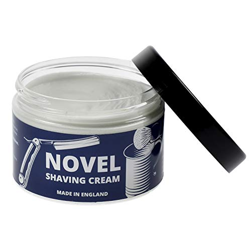 NOVEL Shaving Cream for Men and Women - Gentle Shave Cream for Sensitive Skin - Great Scent & Perfect Lather, 150ml