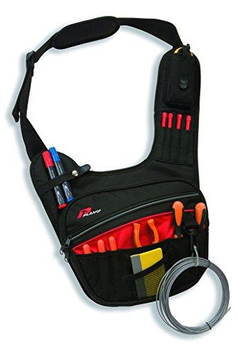 Plano PL543T Bandolera diagonal porta herramientas en tejido especial reforzado, Negro, 0