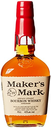 Maker's Mark Handgemachter Kentucky Straight Bourbon Whisky, mit Geschenkverpackung, 45% Vol, 1 x 0,7l