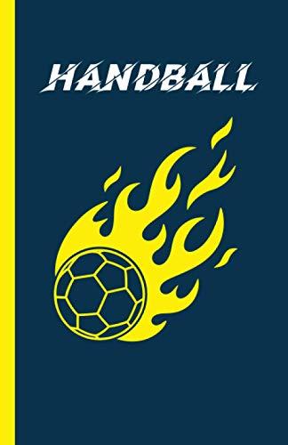 Handball: Carnet de notes pour les amoureux du handball. Petit format pour l'emporter partout
