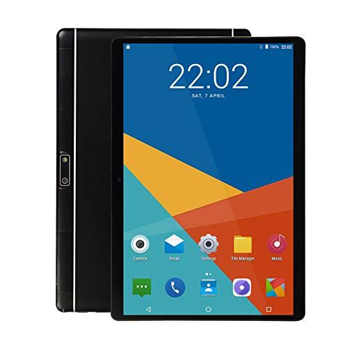 10 inch Android Tablet Pc, 4GB RAM 64GB ROM, Octa -Core Processor,5G-WiFi,3G Phone Call,Dual SIM Cards, GPS,Bluetooth,K1 (Black)