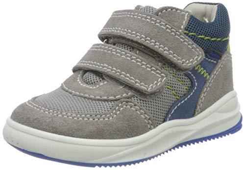 Richter Kinderschuhe Jungen Harry Hohe Sneaker, Grau (STO/Flint/Ink/Alo/Bl 6601), 20 EU