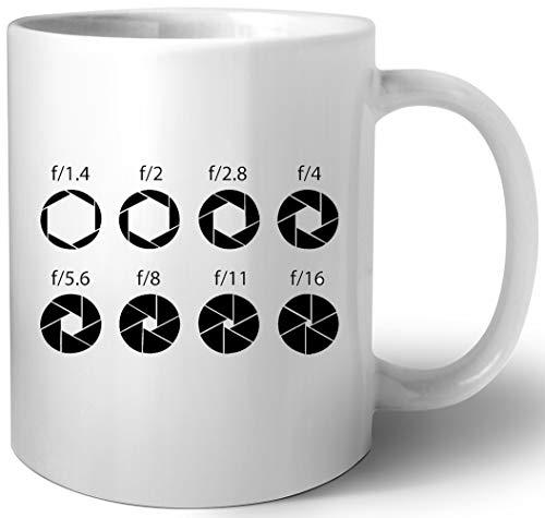 F-Stops Cerámica Taza Mug