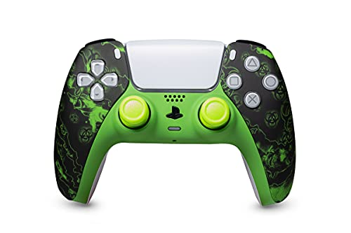 KING CONTROLLER PS5 Paddles Custom Design Zombie Nuklear - DualShock 5 - PlayStation 5 - Wireless PS5-Controller