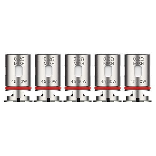 Vaporesso GTX Coil (5er Pack) Verdampferköpfe Serie für Vaporesso Target PM80 Widerstand 0,3Ohm