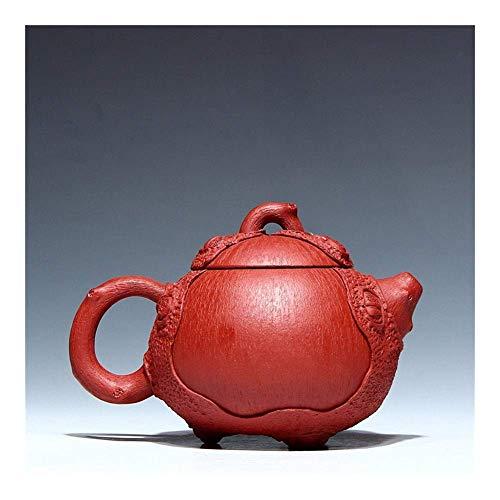 Tetera de hierro fundido, set de tetera hecho a mano con mineral Xi Shi Pot 240 ml decoración del hogar