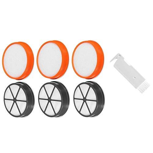 DONGYAO Kit de filtros tipo 90 para filtros de repuesto Vax Premium Pre & Post Motor HEPA Set de filtro para aspiradora Vax Partes de aspirador
