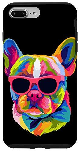 iPhone 7 Plus/8 Plus Pop Art French Bulldog Cute Gift Fur Mom Dog Dad Frenchie Case