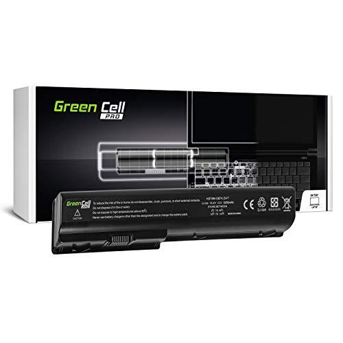 Green Cell PRO Serie HSTNN-DB75 HSTNN-IB75 Batería para HP Pavilion DV8 DV7 DV7T DV7Z DV7-1000 DV7-2000 DV7-3000 HP HDX18 Ordenador (Las Celdas Originales Samsung SDI, 8 Celdas, 5200mAh, Negro)