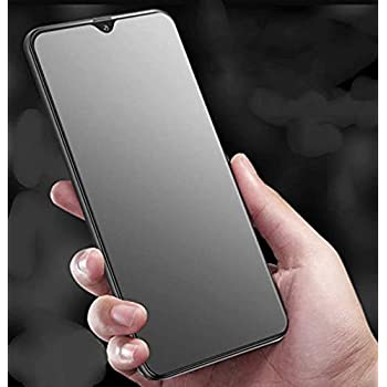 V CAN GLYNO INFOTEL Edge-to-Edge Full Glue Anti-Scratch Tempered Glass Screen Protector for OnePlus 7T (Matte Finish)