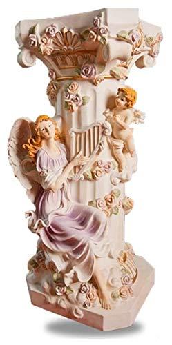 Desktop-Skulptur Säulen-Säulen-Säulen-Skulptur, Basis-Säule Statue Dekoration Stil Säule Klassische Säule Garten Angel Crafts Dekoration Zubehör