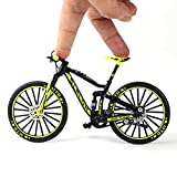 Pppby 1 Pieza de Juguete Modelo de Bicicleta de simulación de Bicicleta de Dedo en Miniatura a Escala 1:10 Portátil Ideal para Juguete de Movimiento con la yema del Dedo