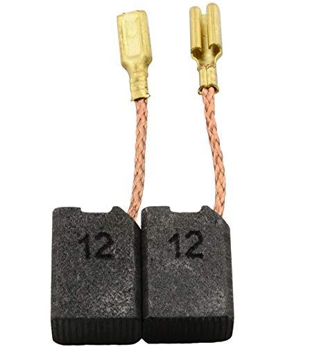 Escobillas de Carbón para SPIT SM125R10 amoladora - 6,4x10x14mm - 2.4x3.9x5.5