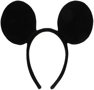 Dollarstore Diadema complemento disfraz Orejas de Mickey o