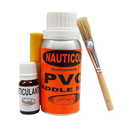 Kit reparacion Tabla de Paddle Surf SUP - Nauticol (Blanco)