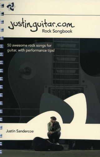 Justinguitar.com - Rock Songbook - gearrangeerd voor gitaar - akkoorden [Noten / Sheetmusic]