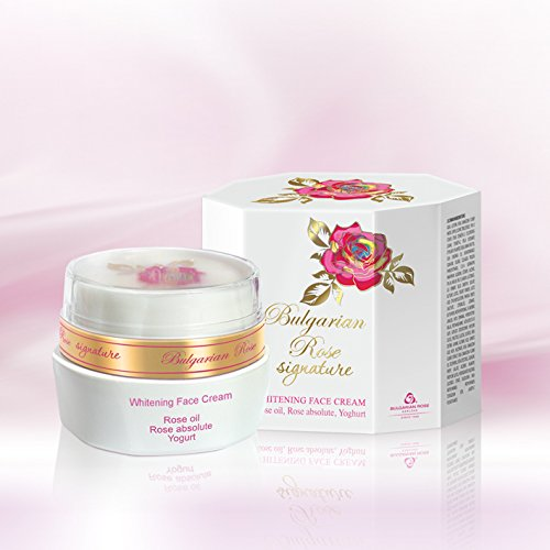Crème dépigmentante (Antitache) « Bulgarian Rose Signature » - Unifie le teint de la peau- Atténue les taches provoquées par les effets du soleil – Tout type de peaux