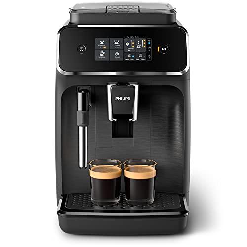 Philips 2200 Serie, Kaffeevollautomat mit WLAN-Konnektivität und klassischem Milchaufschäumer - Coffee+App, EP2520/10