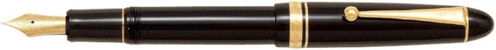 Pilot Fountain Max 68% OFF Colorado Springs Mall Pen Custom 742 Black Body FKK-2000R-B-S SU-Nib