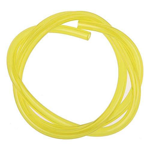 Vogueing Tool Benzinschlauch, Ölschlauch, 3 m, gelb, für Vergaser, Kraftstoffleitungen, Kraftstoffleitung, Leitung für die meisten Rasentrimmer, Kettensägen, Werkzeug, 3 x 5 mm