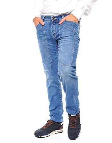 Jeckerson jeans Uomo cod.UPA077D040085 Light Blue SIZE:34