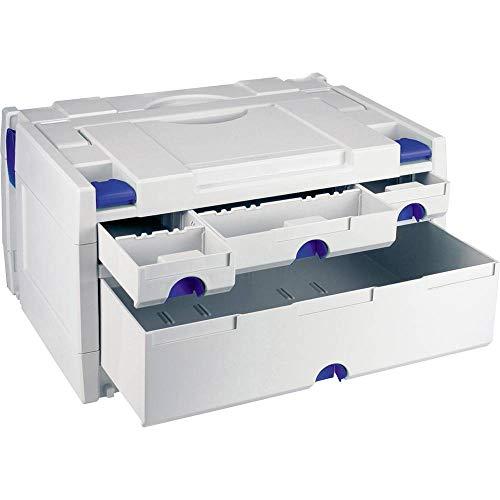 Tanos systainer III Variante 1 80000017 Werkzeugkasten unbestückt Kunststoff, ABS (L x B x H) 400 x