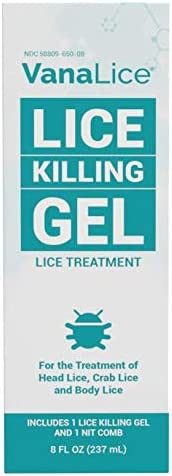 VanaLice Head Lice Limited time trial price 5% OFF Killing Gel for Comb Effective Nit and