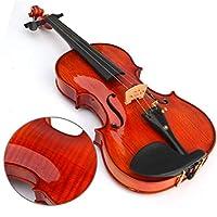 バイオリン スプルースバイオリン初心者は手作りの手作りバイオリン 弦楽器 (色 : Red)