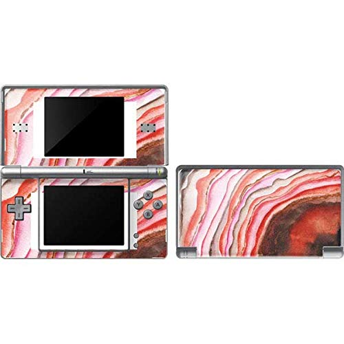 Skinit Decal Gaming Skin Compatible with DS Lite - Officially Licensed Originally Designed Orange Watercolor Geode Design