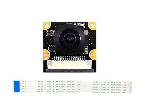 Waveshare IMX219-160 Camera for NVIDIA Jetson Nano Developer Kit Compute Module 3/3+, IMX219 Sensor 3280 × 2464 Resolution 8 Megapixels 160 Degree Angle of View