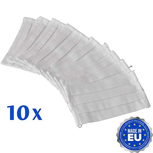 Boost Oxygen Mundschutz aus 100% Baumwolle - Weiss