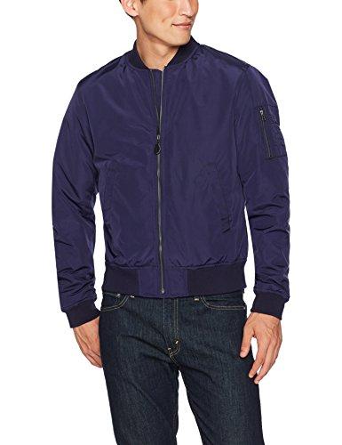 Goodthreads Men's Bomber Jacket, Navy, Small