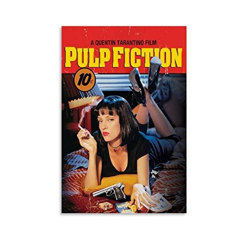HHRF Pulp Fiction 24 film pittura ad olio su tela poster e stampe decorazione da parete parete parete soggiorno 30 x 45 cm