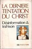 La dernière tentation du christ - Plon