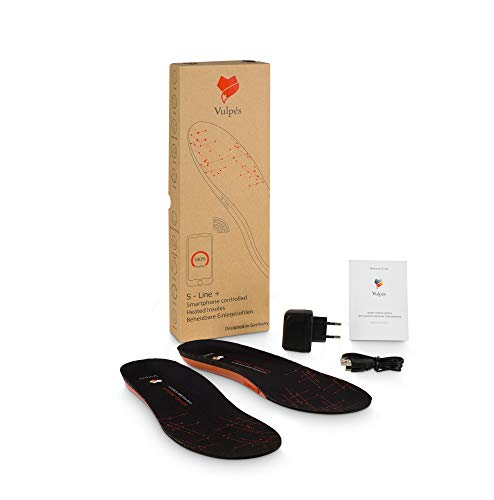 Vulpés S-Line Plus - intelligenter beheizbarer Fußwärmer (XL (44/45/46))