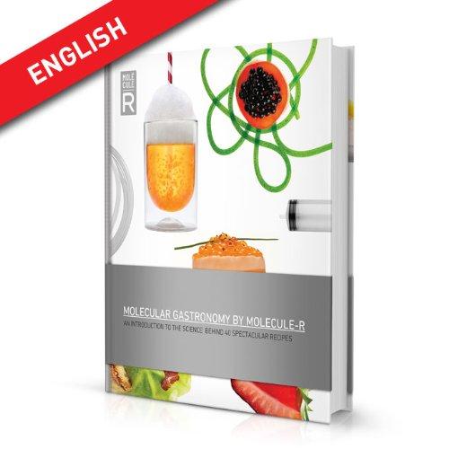 Molecule-R moleculaire keuken, kookboek met 40 recepten (in het Engels)