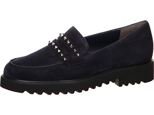Paul Green Damen Slipper 2424-133 blau 484405