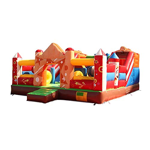 Children's Playground Large Blower Inflatable Bounce Room Indoor and Outdoor Children's Castle Playhouse for Indoor- Outdoor-Shopping The Best Gift for Children