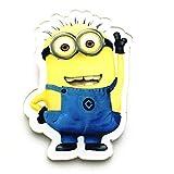 BQZB Broche Minions Insignias de Dibujos Animados para Ropa Insignias de...