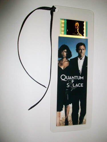 Bond Quantum of Solace '007 Film Film cellule Signet