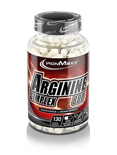 Ironmaxx Arginin Simplex 1200, 130 Kapseln