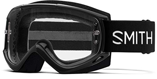 Smith Unisex– Adult's FUEL V.1 MAX M Bicycle Goggles, Black, Normal