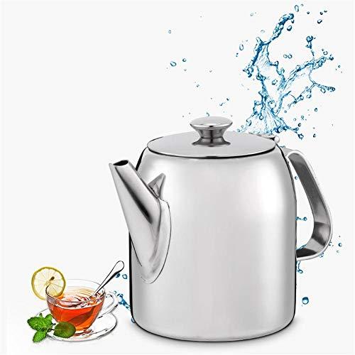 HMY Teapot, Grande Salle épais en Acier Inoxydable Capacité d'eau Froide Bouilloire/Rouge Teapot/Bouilloire à thé 0.5L-2L Grande capacité Teapot,1.9L