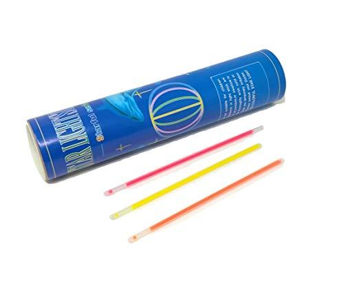 braccialetti fluorescenti R&F srls 100 Braccialetti Luminosi Starlight Fluorescenti Braccialetto Luminoso Stock