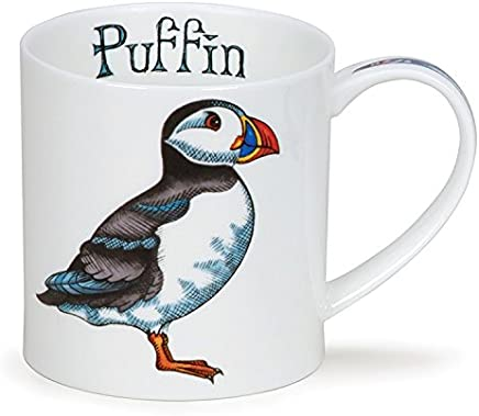 Preisvergleich für DUNOON Lovely Ceramics Tasse Sea Life Papageientaucher Vogel Orkney Stil