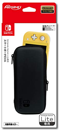 【任天堂ライセンス商品】Nintendo Switch Lite専用スマートポーチ EVA ブラック
