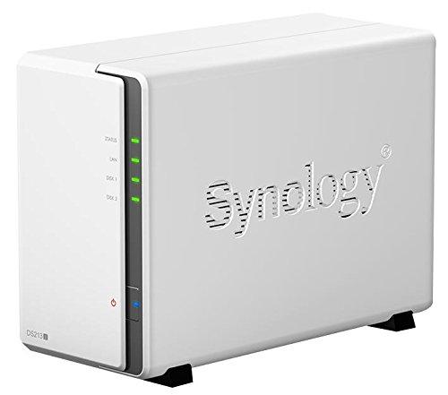 Synology DS213j Gehäuse NAS 2Bay SMB DS213j [1] (Steht ProGrade)