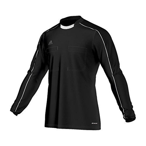 adidas Erwachsene Trikot Referee 16 Jersey Long Sleeve Schiedsrichtertrikot, Black/White, L