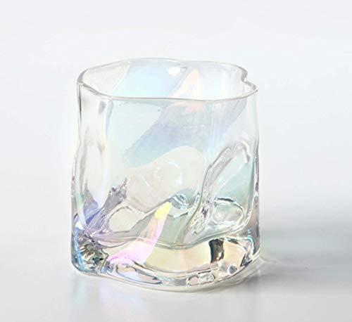 Inicio vaso de whisky copa de degustación de vinos creativa nórdica copa de oro cristal personalidad vodka vaso de cerveza