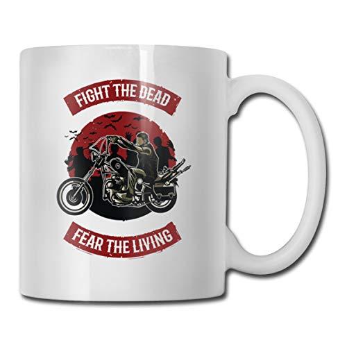 Xu Yishe vechten de dood angst de levende motorfiets neef geschenken grappige neven dag geschenken beste ooit moeders dag vaders dag geschenken verjaardag koffie mokken thee kopjes